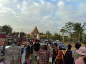 Local Market in Krabueang Nok